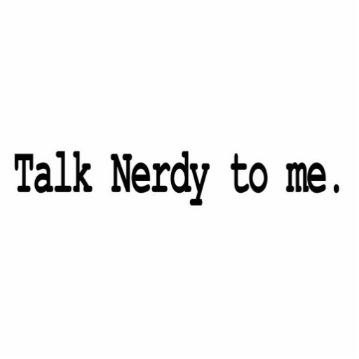talk nerdy to me photo cut outs