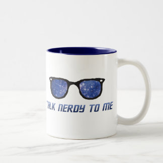 Talk Nerdy To Me Space Stars Mug