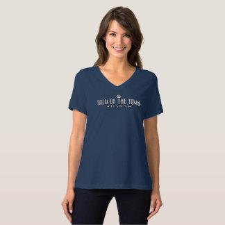 Talk of the Town - Women's V-Neck T-Shirt