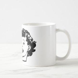 Talk Psycho To Me - Funny Retro Lady Coffee Mugs