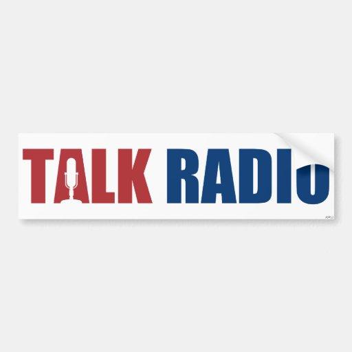 Talk Radio Bumper Stickers