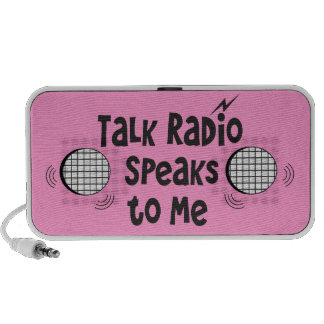 Talk Radio Speaks To Me © - PINK Travelling Speakers