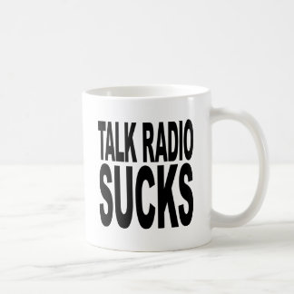 Talk Radio Sucks Coffee Mugs