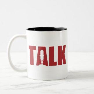 Talk Radio Two-Tone Mug
