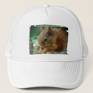 TALK SQUIRREL - Photography Jean Louis Glineur Trucker Hat