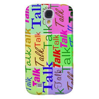 Talk, Talk, Talk iPhone3 Case Galaxy S4 Case