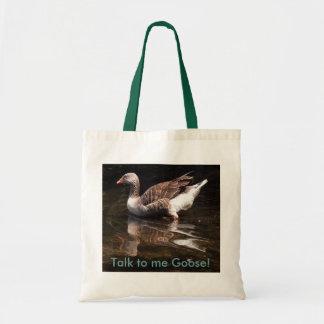 Talk to me Goose! Tote Bag