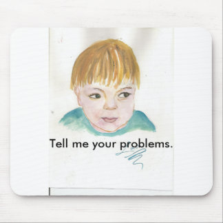 Talk to me. mouse pad