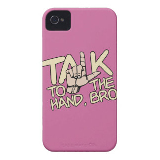Talk To The Hand custom iPhone case-mate