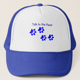 Talk to the Paws Blue Hat