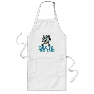 Talk to the Tail Cow Long Apron