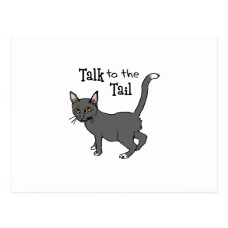 Talk To The Tail Postcard