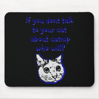 Talk to your cat about catnip mouse mat