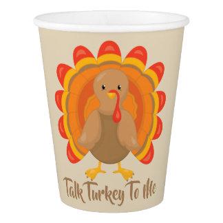 Talk Turkey To Me Paper Cup