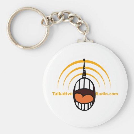 Talkative Radio Keychains
