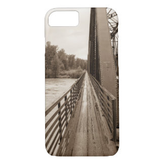 Talkeetna Railroad Bridge Walkway iPhone 7 Case