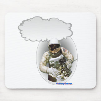 Talking Astronaut Mouse Pad