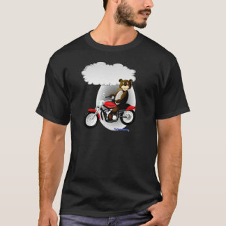 Talking Biker Teddy Bear T-Shirt