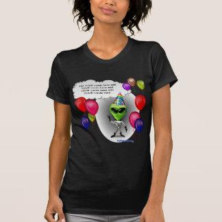 Talking Birthday Party Alien Tee Shirt