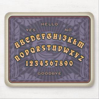 Talking Board (grape) Mouse Pad