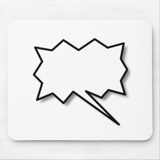 Talking Bubble Mousepad