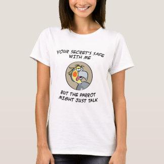 Talking Cockatiel Parrot T-Shirt