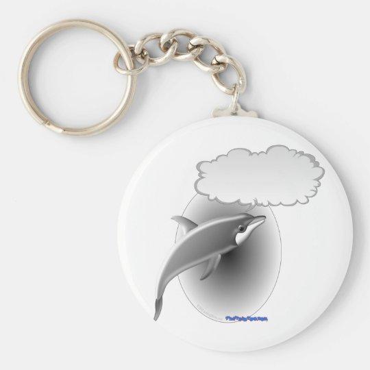 Talking Dolphin Key Ring