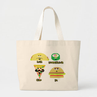 Talking Food Canvas Bags