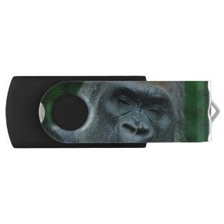 Talking Gorilla Swivel USB 2.0 Flash Drive