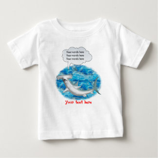 Talking Hammerhead Shark Baby T-Shirt
