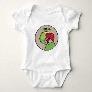 Talking Indian Ringneck Parrot Baby Bodysuit