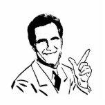 Talking Mitt Romney Cut Outs