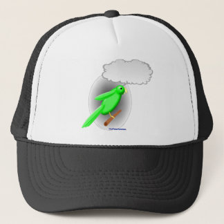 Talking Parrot Trucker Hat