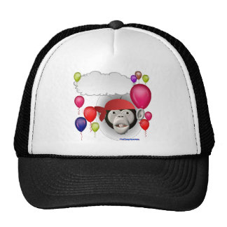 Talking Pirate Monkey Party Animal Hats