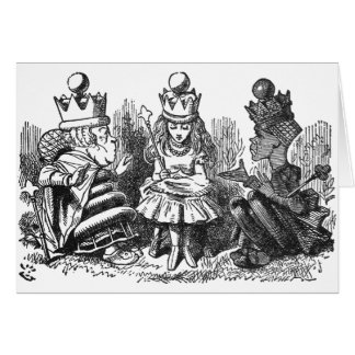 Talking Queens Greeting Card