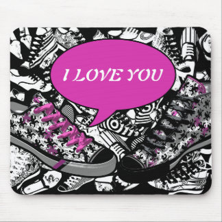 Talking Shoes 2 | change text if you want Mouse Pad