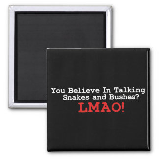 Talking Snakes and Bushes Magnets