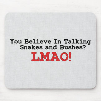 Talking Snakes and Bushes Mouse Pad