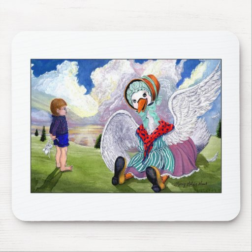 Talking to Mother Goose Mouse Mat