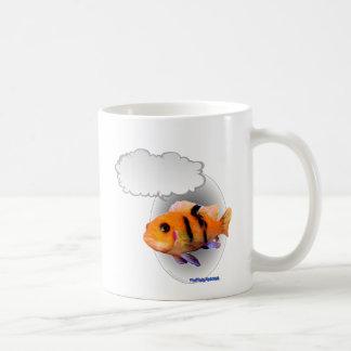 Talking Tropical Fish Basic White Mug