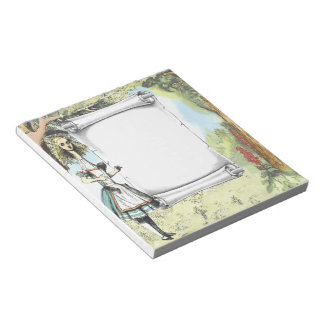Tall Alice 2 Notepad