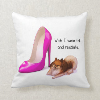 Tall and Resolute Pillows