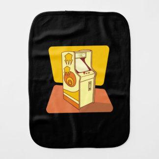 Tall arcade game console burp cloth