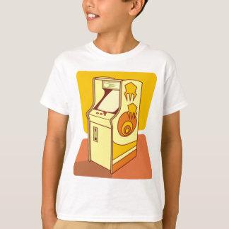 Tall arcade game console tshirt
