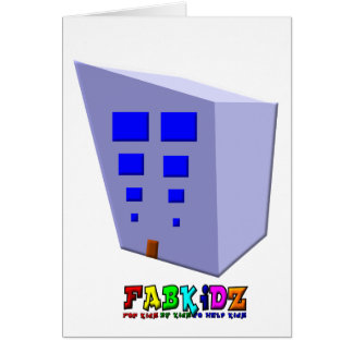 Tall Building of Hope Greeting Card