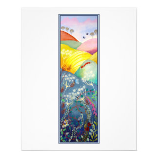 Tall Countryside Picture. Custom Flyer