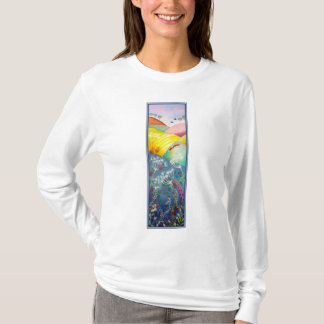 Tall Countryside Picture. T-Shirt