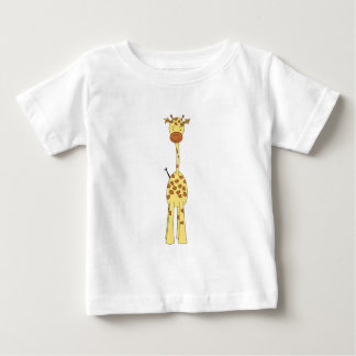 Tall Cute Giraffe. Cartoon Animal. Baby T-Shirt