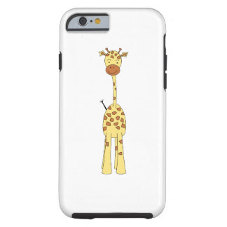 Tall Cute Giraffe. Cartoon Animal. Tough iPhone 6 Case