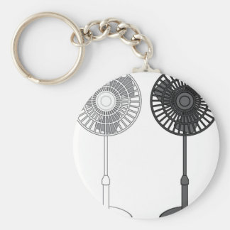 Tall Fan Key Ring